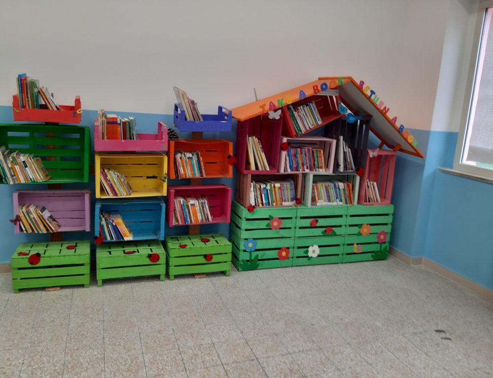 Una Little free Library nella nostra scuola