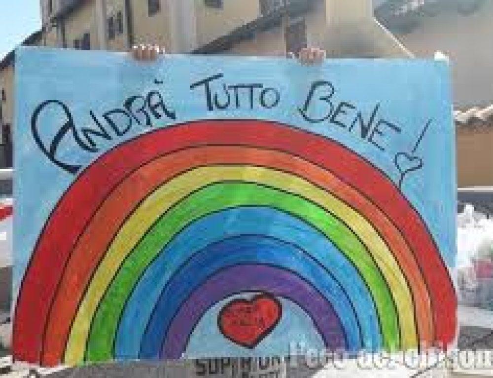 I bambini della Scuola Primaria di Villalfonsina ci incoraggiano con i loro bellissimi lavori!!!!
