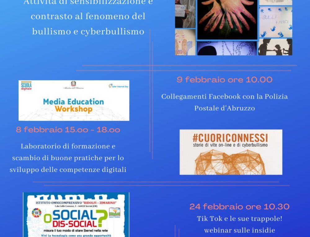7 Febbraio: Giornata Nazionale contro il Bullismo e Cyberbullismo.