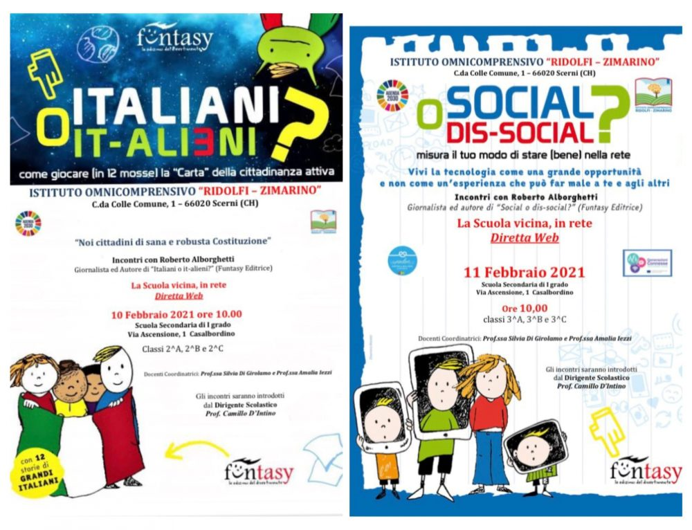 Giornata Nazionale contro il Bullismo e il Cyberbullismo a scuola